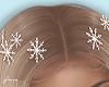 f. hair snowflakes