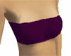 Stylish short purple top