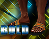 Bold Org Afro Sandals