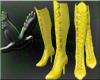 ~D~ Yellow PVC boots