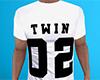 Twin 02 Shirt White (M)