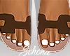 ṩOran Sandals Brwn