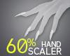60% Hand Scaler
