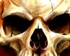 Flamming Skull