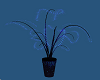 Glowing Blue Plant