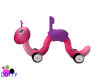 little pink worm toy 40%
