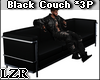 Black Couch Tx *3P