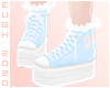 E - Blue Sneakers
