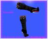 Beaded Black Boots