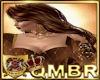 QMBR Long Wavy Golden Br