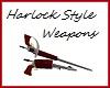 Harlock Weapons