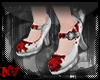 ✚Mary Jane Blood-Shoes