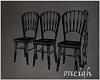 Dark Chairs