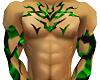 ~DD~ Green Tribal Tat