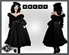 KM-DRESS COAT BLACK LONG