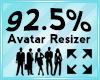 Avatar Scaler 92.5%