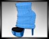 BlueSnowman Sweater Shoe