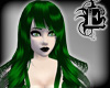 Dark green Birth hair