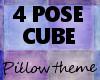 KP 4 pose cube purples