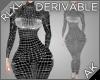 ~AK~ RLXL: Tight Dress