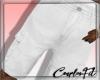 ɔ White Cargo Shorts