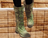 Camo Boots W Back Buckle