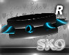 *SK*SPIKES R(TEAL)