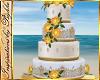 I~Beach Wedding Cake