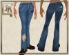 *JR Jeans Patchwork Blue