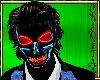 C*Halloween neon skull