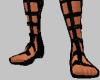 Black Roman Sandals