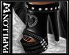 black summer boots