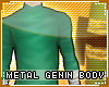 !T Metal genin bodysuit
