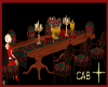 Roses table of 8