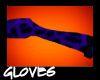 Purple Leopard Gloves