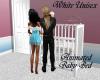 White Unisex Baby Bed