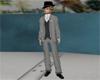 JD Black Zoot Suit Pants