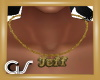 GS Jeff Gold Necklace