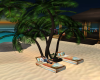Palm Trees and Lounger