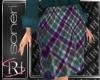 Plaid skirt 2