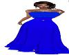 *Calli* Blue Xmas Gown
