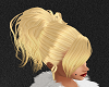 Blonde Messy Updo Hair
