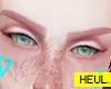 Rose eyebrows