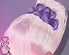 e scrunchie - lavender