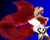 (SP) Red Fuzzy Tail