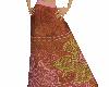 Silk Floral Sari Skirt