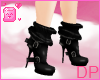 [DP] Gummi Black Boots