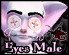 Pink Button Eyes Male