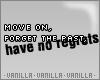 V' Move&Forget&Regrets