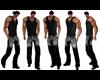 Cowboy Undershirt Black
